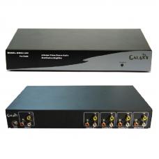 AV composite distribution amplifier, 4 channels