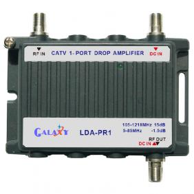 LDA-PR1  CATV 1-Port Drop Amplifier 1in 1out 5-1218MHz