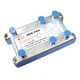 HDA-PR4  CATV 4-Port Drop Amplifier 1in 4out 5-1002MHz