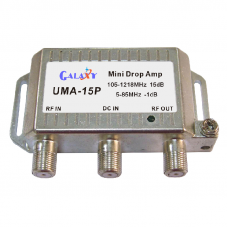 UMA-15P  Mini Drop Amplifier 5-1218MHz