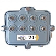 SA Outdoor Multi-Tap 8-way, 5-1218MHz