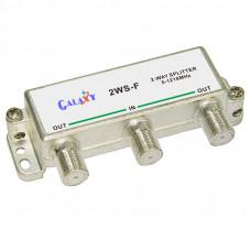 F Type Single-sided 2-way Splitter 1.2G