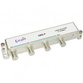 F Type Single-sided 3-way Splitter 1.2G