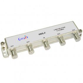 F Type Single-sided 4-way Splitter 1.2G