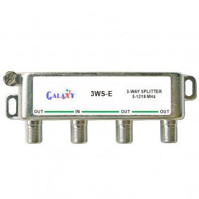 E Type 3-way Splitters 1.2G Single-sided