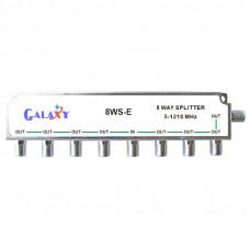 E Type 8-way Splitters 1.2G Single-sided