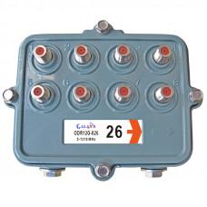RG Outdoor Multi-Tap 8-way, 5-1218MHz
