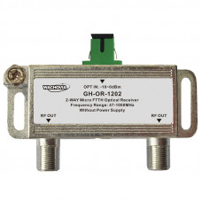 MICRO FTTH OPTICAL RECEIVER 2-way