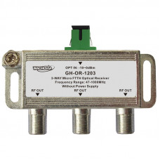 MICRO FTTH OPTICAL RECEIVER 3-way
