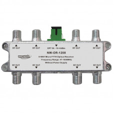 MICRO FTTH OPTICAL RECEIVER 8-way