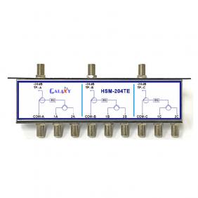 HSM-204TE  Headend Modular Passives, Triple 2-way Splitter